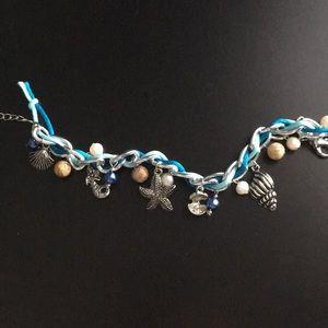 Jewelry - Beach themed charm bracelet